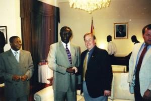 Ghana President 2001