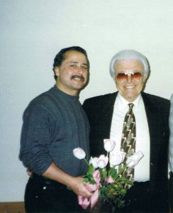 Photo (Flower) Myself as John Calabria and Salvatore Vitello